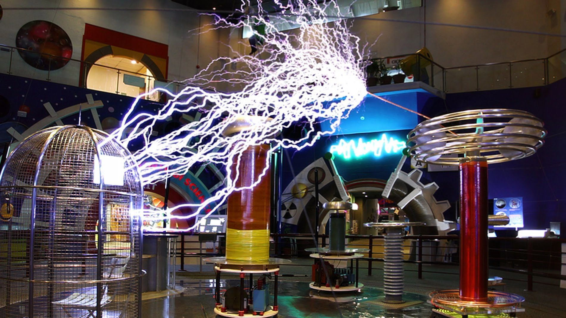 science singapore centre center omni theatre tesla coil ticket exhibits visit interactive places going know need things travel before gain